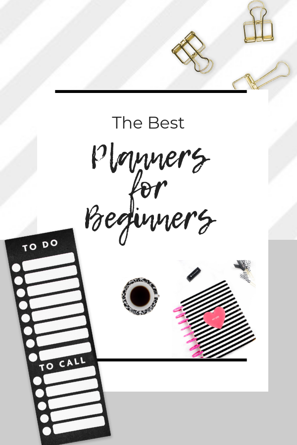 List of best planners for beginners